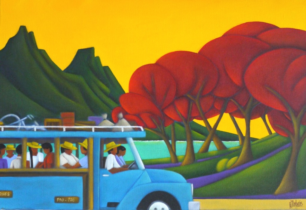 Exposition de Philippe DUBOIS   Agenda   TAHITI INFOS, les informations de Tahiti