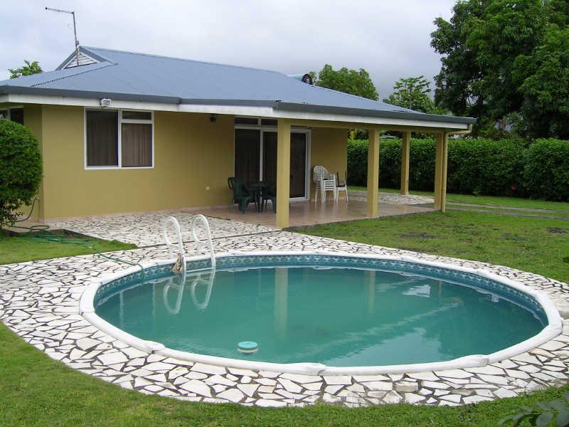 Toahotu loc belle maison avec piscine petites annonces tahiti infos les - Belle maison avec piscine ...