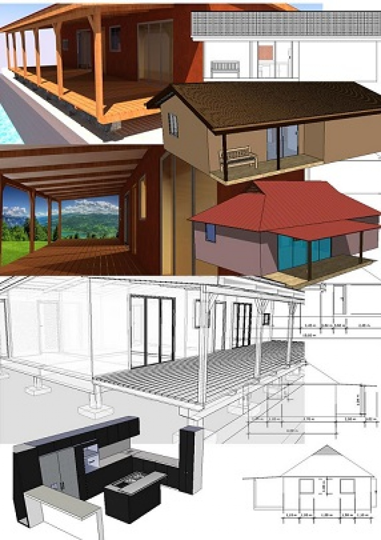 plan de maison tahitienne. Black Bedroom Furniture Sets. Home Design Ideas