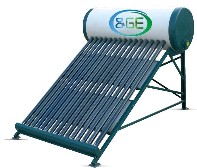 chauffe eau solaire monobloc avec capteur tubulaire a vide