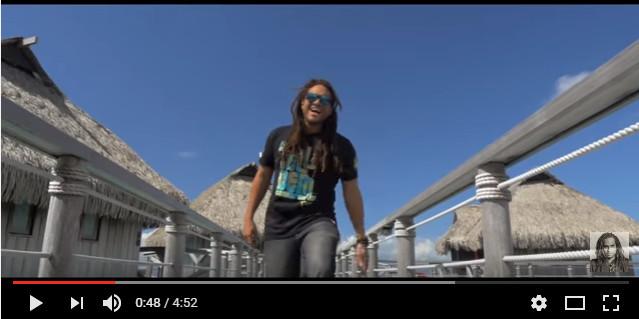 Le dernier clip de Conkarah tourné à Moorea