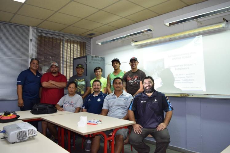 Les participants à cette formation