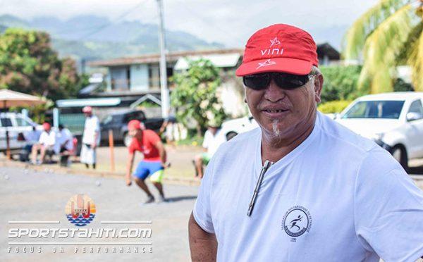 Ralph Taaviri, entraineur et sélectionneur des jeunes.