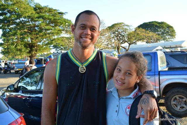 Tommy et sa fille Jade
