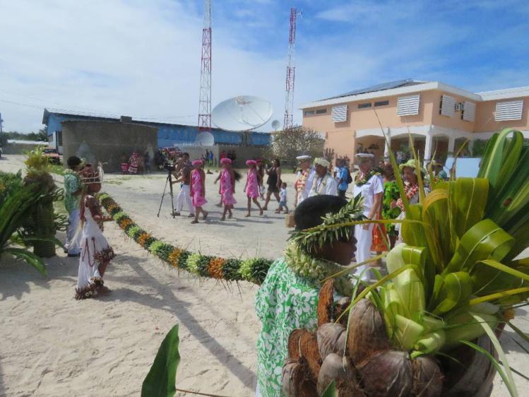 La nouvelle école primaire d'Anaa inaugurée ce mercredi matin