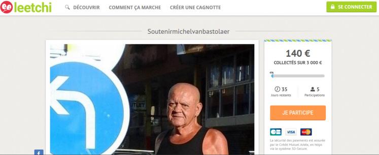 Une cagnotte pour aider Michel Van Bastolaer