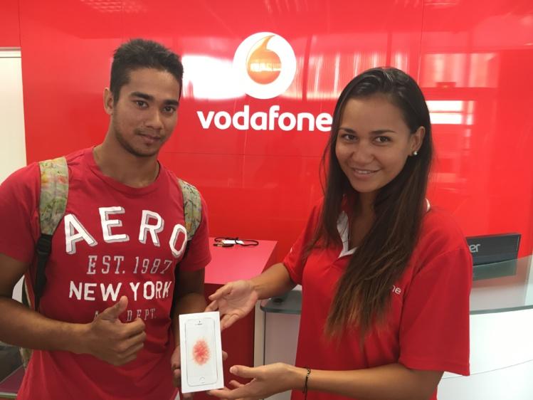 Raja Benoit a gagné un iPhone SE.