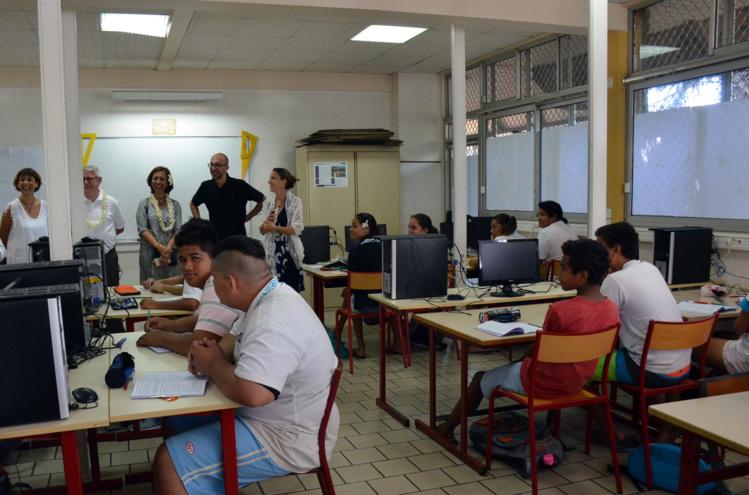 """Collèges : """"La réforme est plutôt bien accueillie"""", selon Nicole Sanquer"""