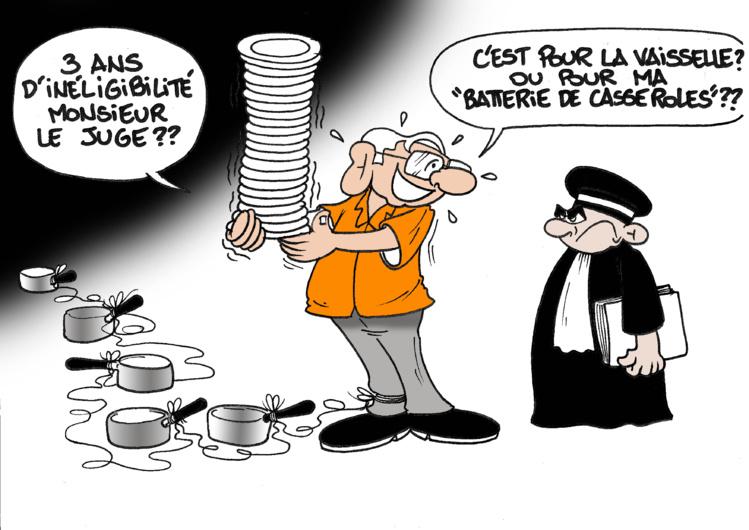 """"""" L'affaire de la vaisselle """" par Munoz"""