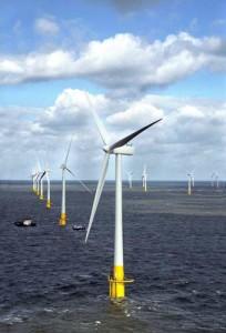 GB: feu vert à l'extension d'une ferme éolienne géante en mer