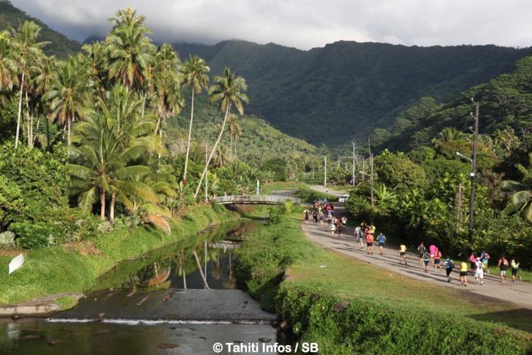 Course à Pied - Trail Mahaena : Teiva Izal et Vaihiria Ponsar s'imposent