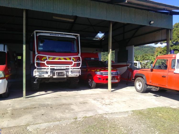 Sept sapeurs-pompiers volontaires de la caserne de Nuuroa à Haapiti se retrouvent en mauvaise posture