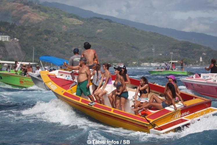 Les règles concernant les bateaux supporters ou accompagnateurs ont changé