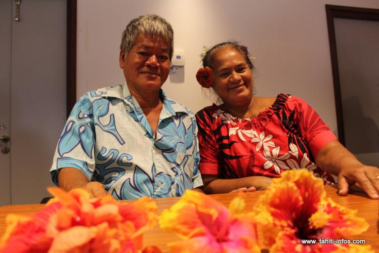Capo et Marceline Oitoi, horticulteurs et arboriculteurs à Moorea.