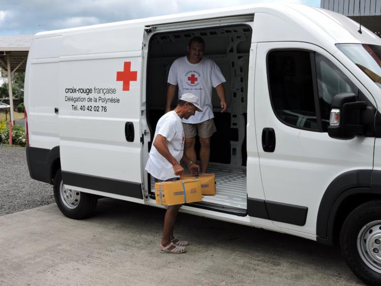 Un nouveau camion pour la croix rouge
