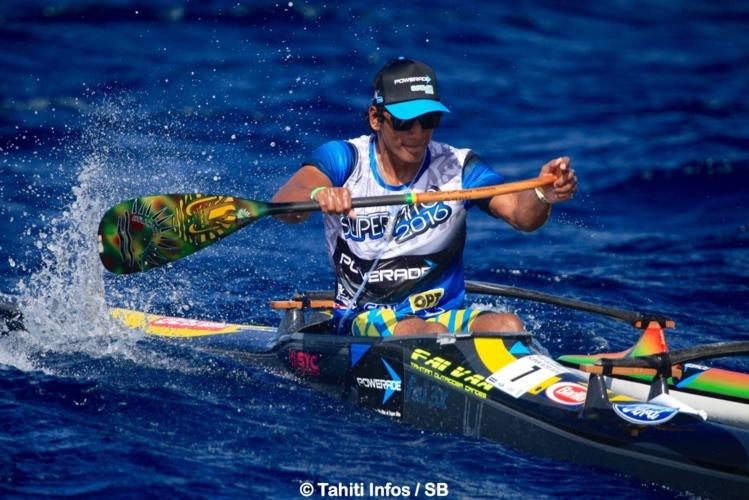 Le junior Tutearii Hoatua remporte la course la plus convoitée de l'année