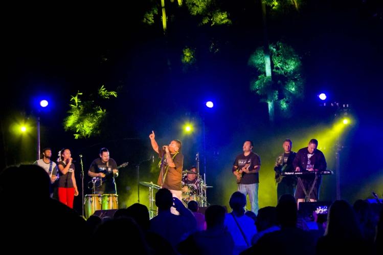 Sur le site sacré du marae Arahurahu, à Paea, Takanini a offert un concert mystique en juin dernier.