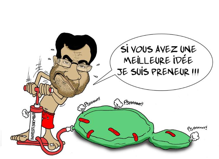 """"""" La relance économique """" vu par Munoz"""