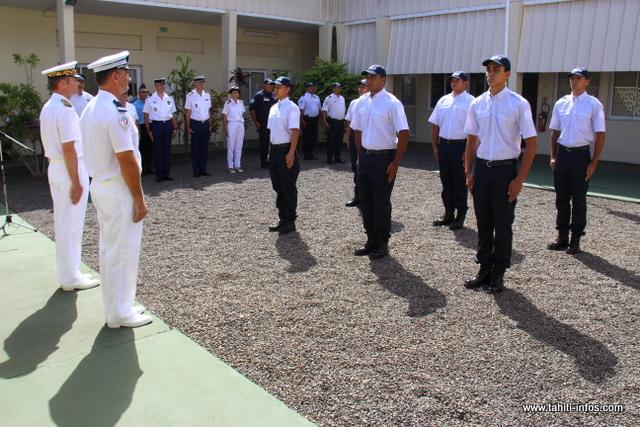 Fin de scolarité pour les six nouveaux cadets de la république, à l'honneur vendredi lors d'une cérémonie au centre régional de formation de la police nationale (CRF).