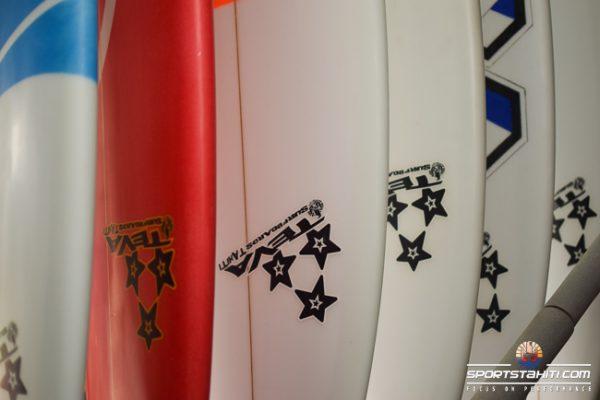 Teva Surf boards, la marque locale 3 étoiles !