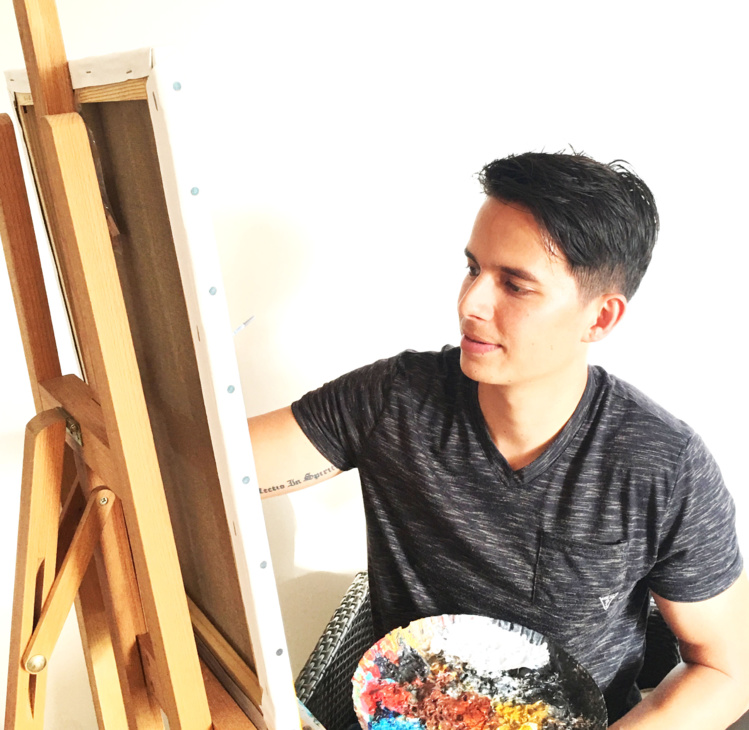 Raimiti Ravello, il conte la vie des autres avec ses pinceaux
