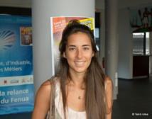 """Elsa Jaubert : """"Nous sommes une start-up tahitienne, mais j'ai rencontré quelques difficultés administratives à m'immatriculer en Polynésie, donc j'ai créé ma société en métropole"""""""