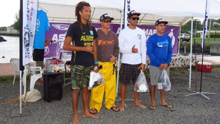 Pêche sous marine : Vaihoarii Taeatua et Joel Drollet gagne la coupe Marara 2016