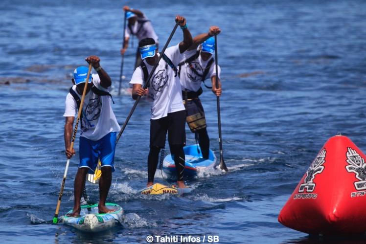 SUP – ATN Royal Race : Niuhiti Buillard devient champion de Polynésie