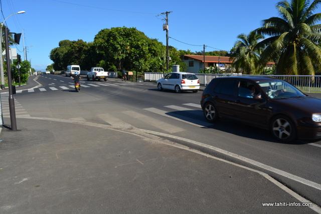 Beaucoup d'habitants de la Côte Est se plaignent encore des nouveaux carrefours tricolores sur Mahina
