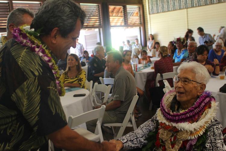 Hawaii : le Président Fritch salue l'œuvre du professeur Sinoto