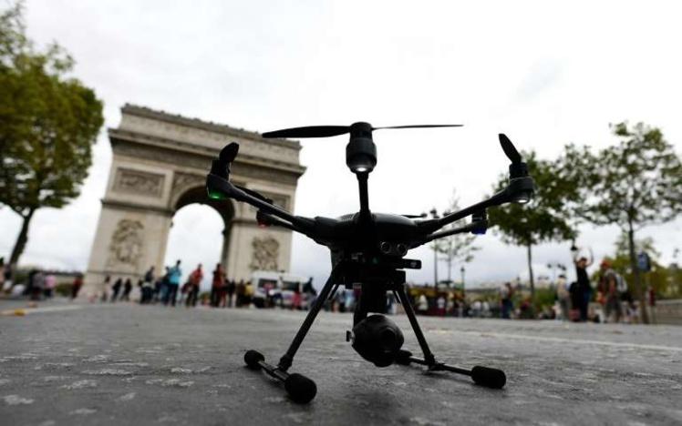 A Paris les drones ont désormais droit de cité