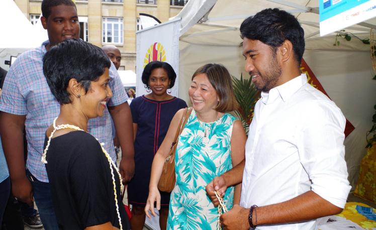La Délégation de la Polynésie française présente à Campus Outre-mer