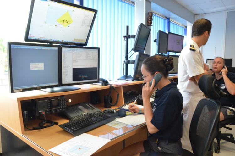 58,4 % des opérations du MRCC ont eu lieu dans l'archipel de la Société en 2015.