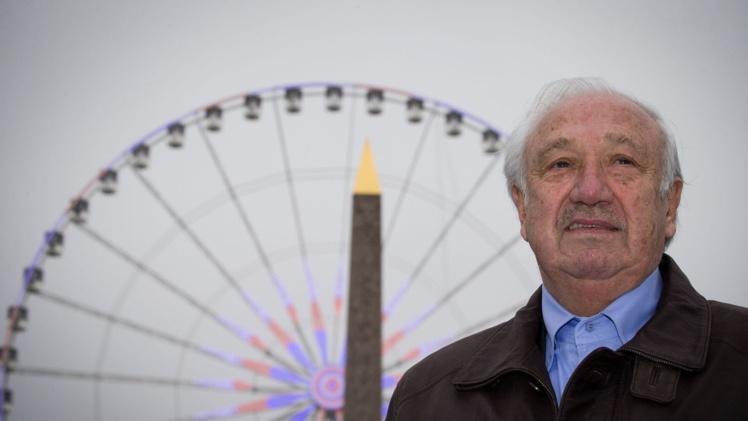 Marcel Campion, le 1er janvier 2016 à Paris.