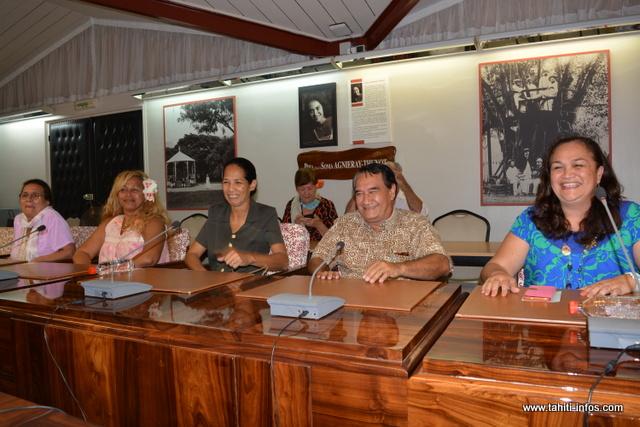 L'opposition a donné une conférence de presse à l'issue de la séance.