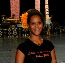 Hitirere Ludivion, répétitrice des filles