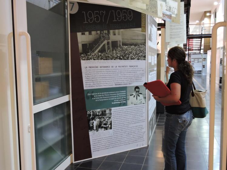 L'exposition est visible du lundi au samedi à l'université.