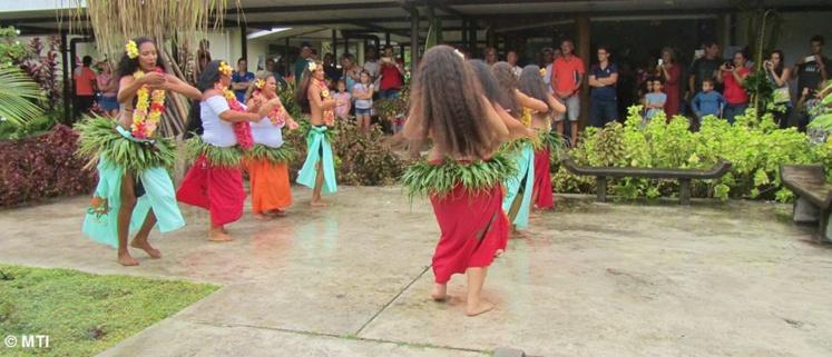 Le groupe Ia ora Tahiti proposera un spectacle de danse gratuit samedi.