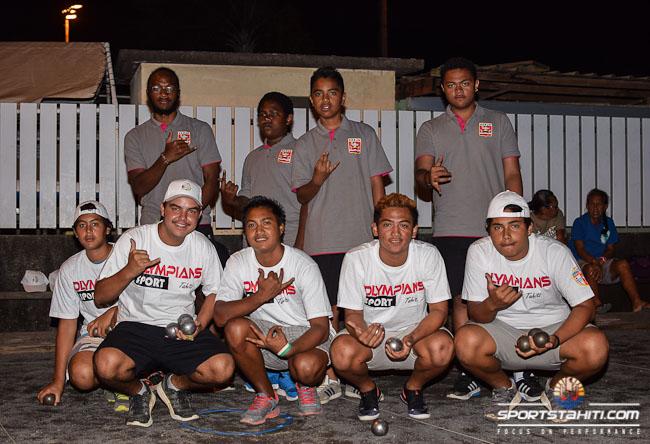 Pétanque-Jeunes : La sélection tahitienne domine la sélection calédonienne