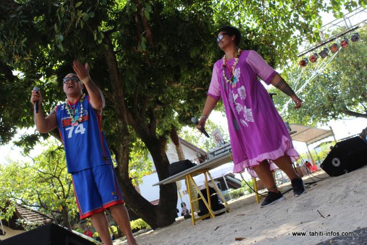 King Kapisi et Teremoana Rapley sont dans la musique depuis 25 et 30 ans.