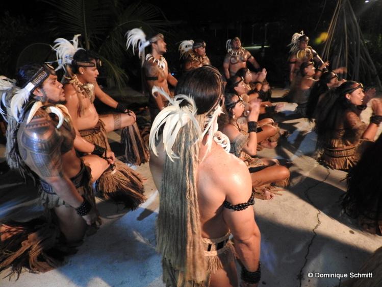 La troupe de danse marquisienne Toa Huhina a offert un impressionnant spectacle.