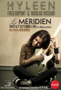 Hyleen trio en concert samedi soir au Méridien