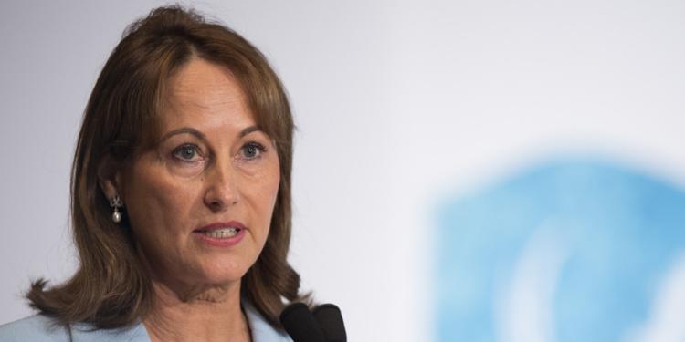 Ségolène Royal a annoncé des alliances pour protéger la Méditerranée.@ JIM WATSON / AFP