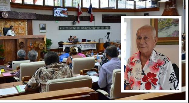 Jacquie Graffe est un des vice-présidents du Tapura Huiraatira.