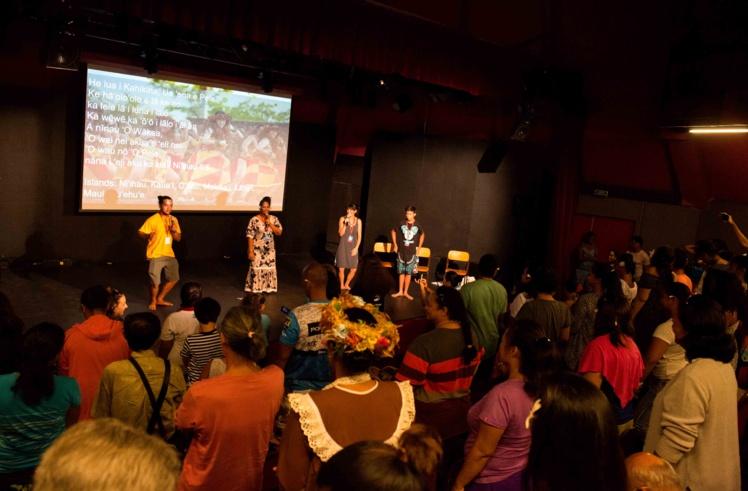 Hommage à Pele et à la navigation traditionnelle tahitienne