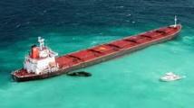 Cargo échoué sur la Grande barrière de corail: un groupe chinois accepte de payer
