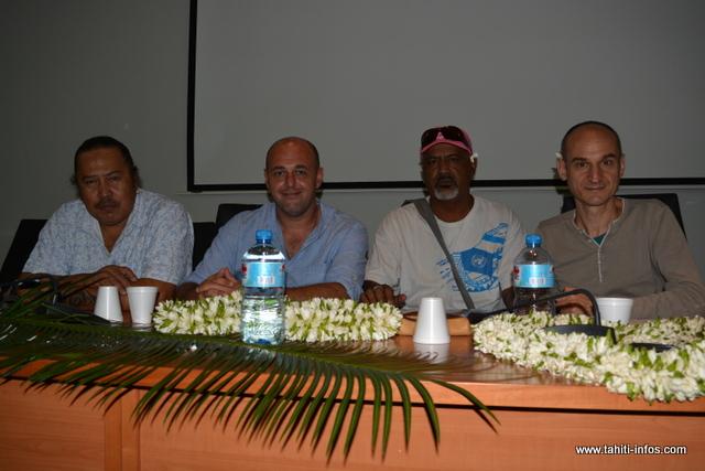 Les deux représentants de la CGT resteront en Polynésie durant 15 jours