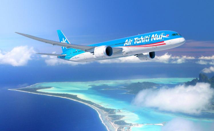 Le Président Edouard Fritch s'entretient avec les représentants  de Boeing
