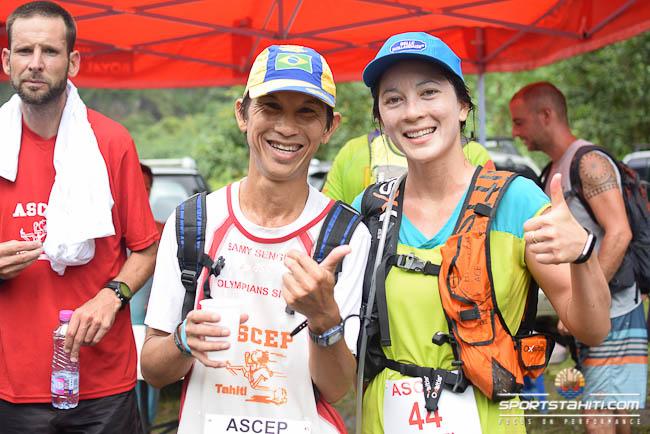 Lara Berger avec Samy Sengues