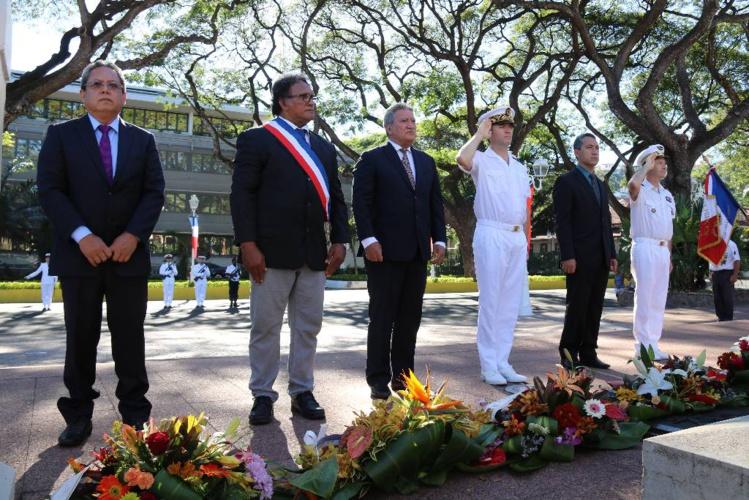 La journée nationale d'hommage aux harkis solennellement célébrée à Tahiti